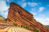 Famous Red Rocks Amphitheater in Denver — 图库照片