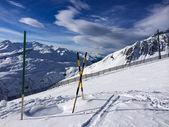 Winter landscape in St.Christoph in Austria — Stockfoto