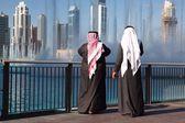 The grand fountain in Dubai — Stock Photo