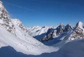 вид с вершины горы valluga — Стоковое фото