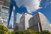 BATTERY PARK, NEW YORK, USA - JULY 30: Battery Park is a 25 acre — Stock Photo