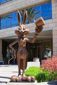 Visitatori di bugs bunny saluto — Foto Stock