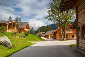 Almwelt Austria is located on the slopes of Pichl — Stock Photo