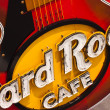 Постер, плакат: Guitar at entrance Hard Rock Cafe