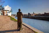 :Museum Kampa on the Vltava river banks. — Stock Photo