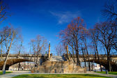 View from Strelecky island on the Bridge of Legions in Prague.HD — Stock Photo