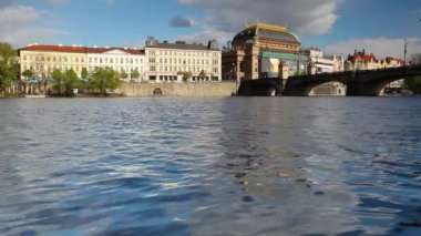National Theater in Prague — Stock Video