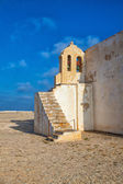 Church of Our Lady of Grace  at Sagres Fortress,Algarve, Portuga — Stock Photo