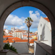 Famous Sao Vicente de Fora Monastery in Lisbon — Stock Photo #49730719