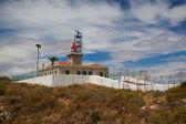 Ponta de Piedade Lighthouse overlooking the Atlantic Ocean,Lagos — Stock Photo
