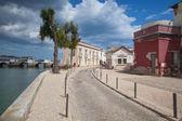Historic architecture in Tavira — Stock Photo