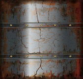 Background metal rusty texture — Stock Vector