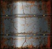 Metal textura enferrujada de fundo — Vetorial Stock
