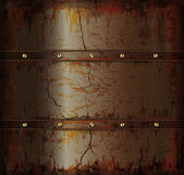 Background metal rusty cuprum texture — 图库矢量图片