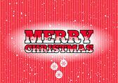 Frohe Weihnachten-Zeichen — Stockvektor