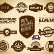 Vintage labels. Collection 15 - Stock Vector