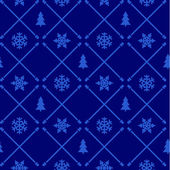 Vintage christmas pattern — Stock Vector