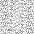 Spirals seamless pattern — Stock Vector