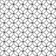 Tiled seamless pattern — Stock vektor