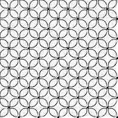 Modèle sans couture en mosaïque — Vecteur