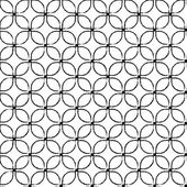 Tiled seamless pattern — Stok Vektör