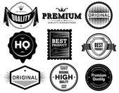 Vintage labels. Bitmap collection 6 — Stock Photo