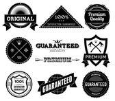 Vintage labels. Bitmap collection 9 — Stock Photo