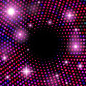 Abstract vector background with shiny stars — 图库矢量图片