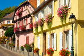 Ribeauville houses — Stock Photo