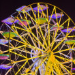 Panoramic wheel by night — Stock Photo