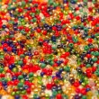 Colored beads closeup — Zdjęcie stockowe #22765380