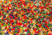 Colored beads closeup — Stock Photo