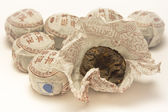 Chinese black tea — Stock Photo