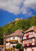 Ribeauville hill — Stock Photo