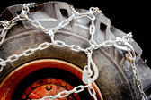 Truck chains — Stock Photo