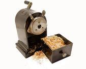 Cranck sharpener opened — Stock Photo