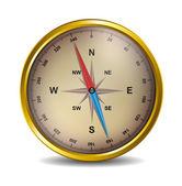 Compass — Vettoriale Stock