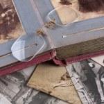 Old Photo album — Stock Photo