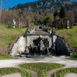Stock Photo: Fountain in park at Linderhof