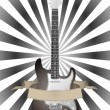 Guitar and banner — Stock Vector #13188804