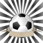 Soccerball banner — Stock Vector #13539570