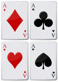 Aces — Stock Vector