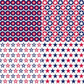 Usa seamless pattern — Stock Vector