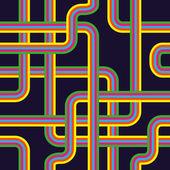 бесшовный узор из трубопровода — Cтоковый вектор