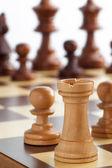 ルークのチェス — ストック写真