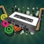 Tape cassette — Stock Vector #24775413