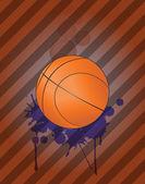 Basket bakgrund — Stockvektor