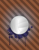 Volley,background — Stock Vector