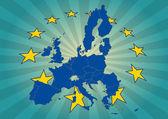 Europe stars — Stock Vector
