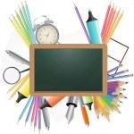 Blank chalkboard — Stock Vector #29957959